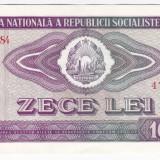 1) Bancnota 10 Lei 1966 a.UNC