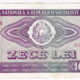 3) Bancnota 10 Lei 1966 VF+