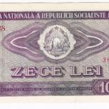 4) Bancnota 10 Lei 1966 a.UNC