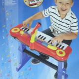 Instrumente muzicale copii - ORGA CU SCAUNEL SI MICROFON