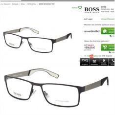Rame Boss Hugo Boss 0551 INX MATTE black -autentica - Rama ochelari Hugo Boss, Designer