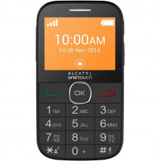 Telefon Alcatel - Telefon mobil Alcatel 2004C Black Seniori