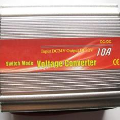 Convertor auto 24V - 12V 10A