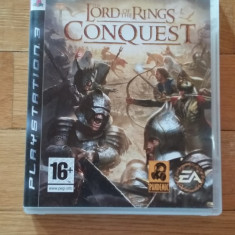 JOC PS3 THE LORD OF THE RINGS CONQUEST ORIGINAL / by WADDER - Jocuri PS3 Electronic Arts, Strategie, 16+, Multiplayer