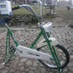 Bicicleta de camera, medicinala, din Germania de Vest, pt Jocurile Olimpice 1972