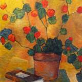 Constantin Agafitei - Flori - Pictor roman, Flori, Ulei, Altul