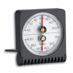 Termometru - Higrometru din plastic cu suport