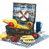 Decoratiuni - Cos picnic pentru 2 persoane Central Park