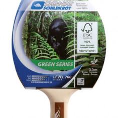 Paleta ping pong - Paleta tenis de masa Attack Green Series 700