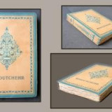 Desen tus Simonidy pentru Firdousi-Minoutchehr/Livre de Roi-plus Ed.de lux, 1919 - Pictor roman, Istorice, Cerneala, Realism