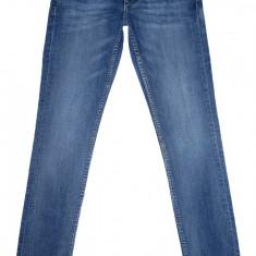 Blugi barbati H&m, Lungi, Prespalat, Skinny, Normal - Blugi Conici H&M - (MARIME: 29) - Talie = 78 CM, Lungime = 103 CM