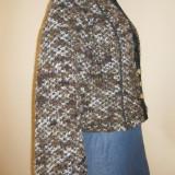 Sacou de lana costum popular german / costum tirolez masura 38 - Costum populare, Culoare: Din imagine