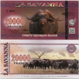 LA SAVANNA- 20000 FRANCS 2016- UNC!! - bancnota africa