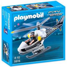 Elicopterul Politiei - Masinuta de jucarie Playmobil