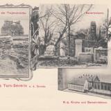 Carte Postala, Necirculata, Printata, Drobeta-Turnu Severin - OLTENIA, TURNU SEVERIN, GRUS AUS TURN-SEVERIN, SALUTARI DIN TURNU SEVERIN