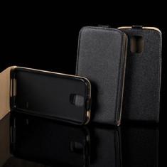Husa telefon, Negru - HUSA FLIP ALLVIEW A5 DUO NEGRU