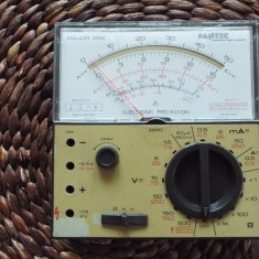 Multimetru analog PANTEC Major 20k Carlo Gavazzi - Multimetre