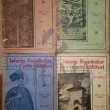 Carte de colectie - N. IORGA - ISTORIA ROMANILOR PRIN CALATORI, 4 VOLUME, 1928