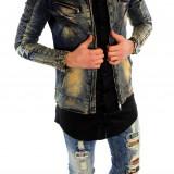 Geaca de blugi tip ZARA - geaca slim fit - geaca fashion - 6006