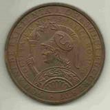 Medalii Romania - MEDALIE 500 DE ANI EXISTENTA A ORASULUI BUCURESTI 1958