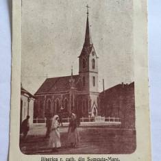 CARTE POSTALA VECHE SOMCUTA MARE - MARAMURES 1929 - Carte Postala Maramures 1904-1918, Circulata, Fotografie