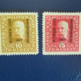 TIMBRE STRAINE BOSNIA 1917, Nestampilat