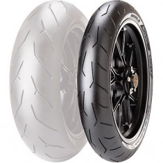Anvelope moto, Latime: 120, Inaltime: 60, Diametru: 17 - Cauciuc Moto NOU Pirelli Diablo Rosso 120/60/17 ZR17 TL 55W