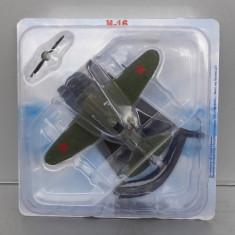 Avion Polikarpov I-16, 1/87 - Macheta Aeromodel