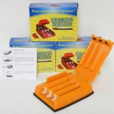 Aparat rulat tigari - Aparat manual de facut tigari / injectat tutun cu 3 tuburi - 003