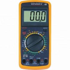 Multimetre - Aparat de masura DT 9208A carcasa antisoc ( masoara si temperatura )