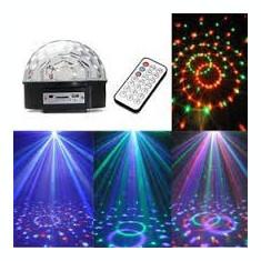 Lampa disco dinamica cu telecomanda Magic Ball RGB Light 18W-24W stick USB / ZZD