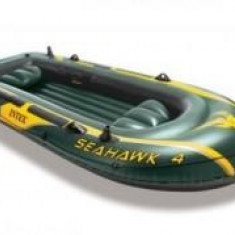 Barca Pescuit - Barca gonflabila pentru 4 persoane Seahawk IV Intex 68350