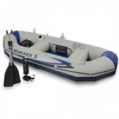 Barca Pescuit - Barca gonflabila Mariner III pentru 3 persoane Intex 68378