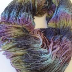 Fire - Fir de tricotat sau crosetat, moale, neregulat, lana 50% degrade superb