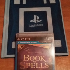 JOC PS3 BOOK OF SPELLS + WONDERBOOK ORIGINAL / MOVE obligatoriu / by WADDER - Jocuri PS3 Sony, Simulatoare, 12+, Single player