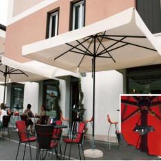 Mobila terasa gradina - Umbrela Napoli - cu schelet de aliaj metalic usor 3x3 m - Sco3030N