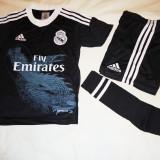 ECHIPAMENTE FOTBAL REAL MADRID . COPII 2-4 ANI, LIVRARE GRATUITA - Set echipament fotbal Adidas, Marime: XXXL, XXL, XL, L, M, S