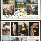 Lot 4 ilustrate, PARIS, necirculate, Fotografie, Europa
