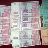 Lot 30 Bancnote Circulate Romania, colectie anii `90 - de la 1 LEU!