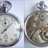 Cronometru mecanic AGAT, URSS, calibru 4282, 15 rubine, functional + cutie