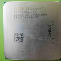 Procesor PC AMD, AMD, AMD Athlon, Numar nuclee: 2, 2.5-3.0 GHz, AM2+ - Procesor AMD Athlon x2 7750 BLACK EDITION Dual Core 2.7GHz socket AM2 AM2+
