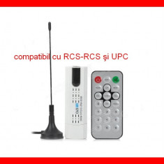 TV-Tuner PC - Tuner TV Extern USB Digital UPC, Rcs Rds, DVB-C -T-T2 DVBC DAB HDTV Radio FM