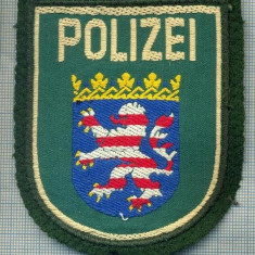 Uniforma militara - 66 - EMBLEMA MANECA -POLITIE -GERMANIA -POLIZEI HESSEN -starea care se vede