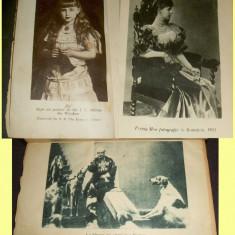 Carte veche - Povestea vietii mele - Regina Maria 3 volume ilustrate anii 30, foto Casa Regala