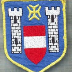 Uniforma militara - 96 -EMBLEMA MANECA -POLITIE?-MILITARA?-GERMANIA?-starea care se vede