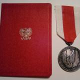 Republica Populara Polona - Medalia de Merit pentru Apararea Nationala, Europa