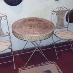 Mobilier - Salon din fier pt terase, gradini