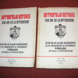 Carti bisericesti - Mitropolia Olteniei - 600 ani de la intemeiere (nr. 5-6 si nr. 7-8) - 2 volume