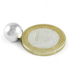 Magnet neodim sfera, diametru 10 mm, putere 1, 5 kg