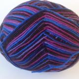 Fire - Fir de tricotat sau crosetat, lana 75% cu poliamida, degrade 100g